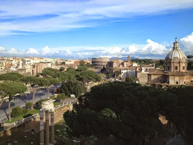 View of Rome from Vittoriano