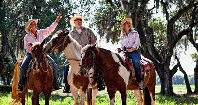 Passear a cavalo em Orlando