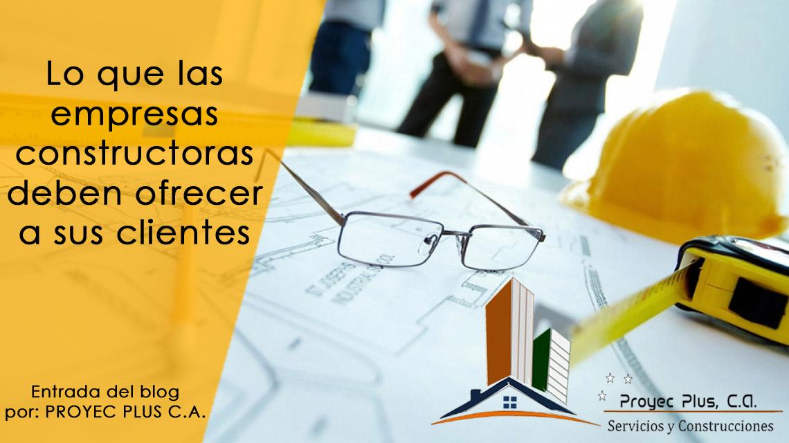 Constructora proyecplus venezuela febrero 2017 for Empresas constructoras