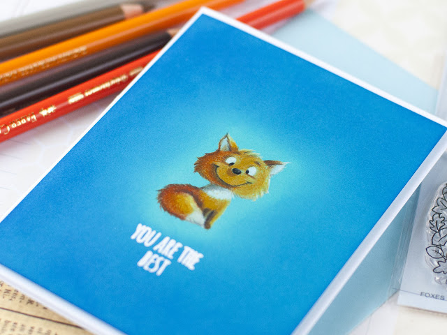 Pencils Colored Gerda Steiner Designs Foxes in The Spotlight