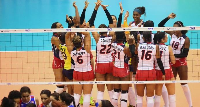 Dominicana vence a Puerto Rico y avanza invicta a la final Copa Voleibol