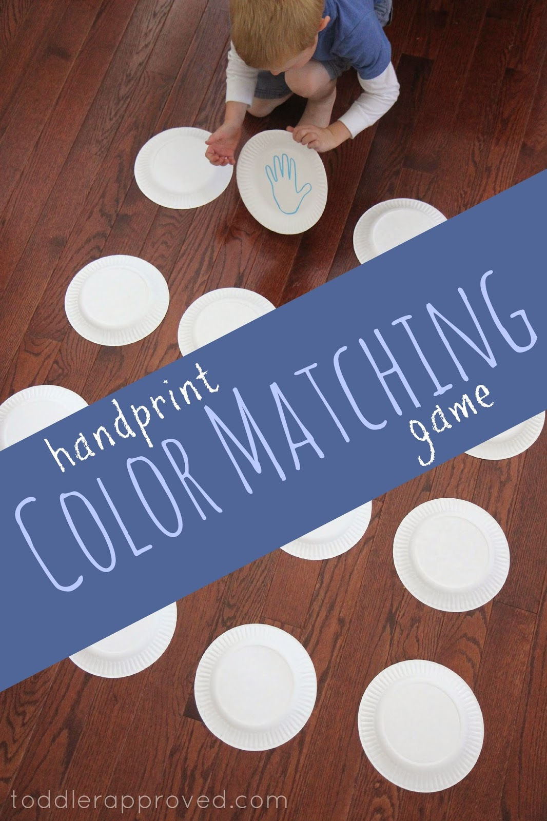 Toddler Approved Handprint Color Matching Game Virtual