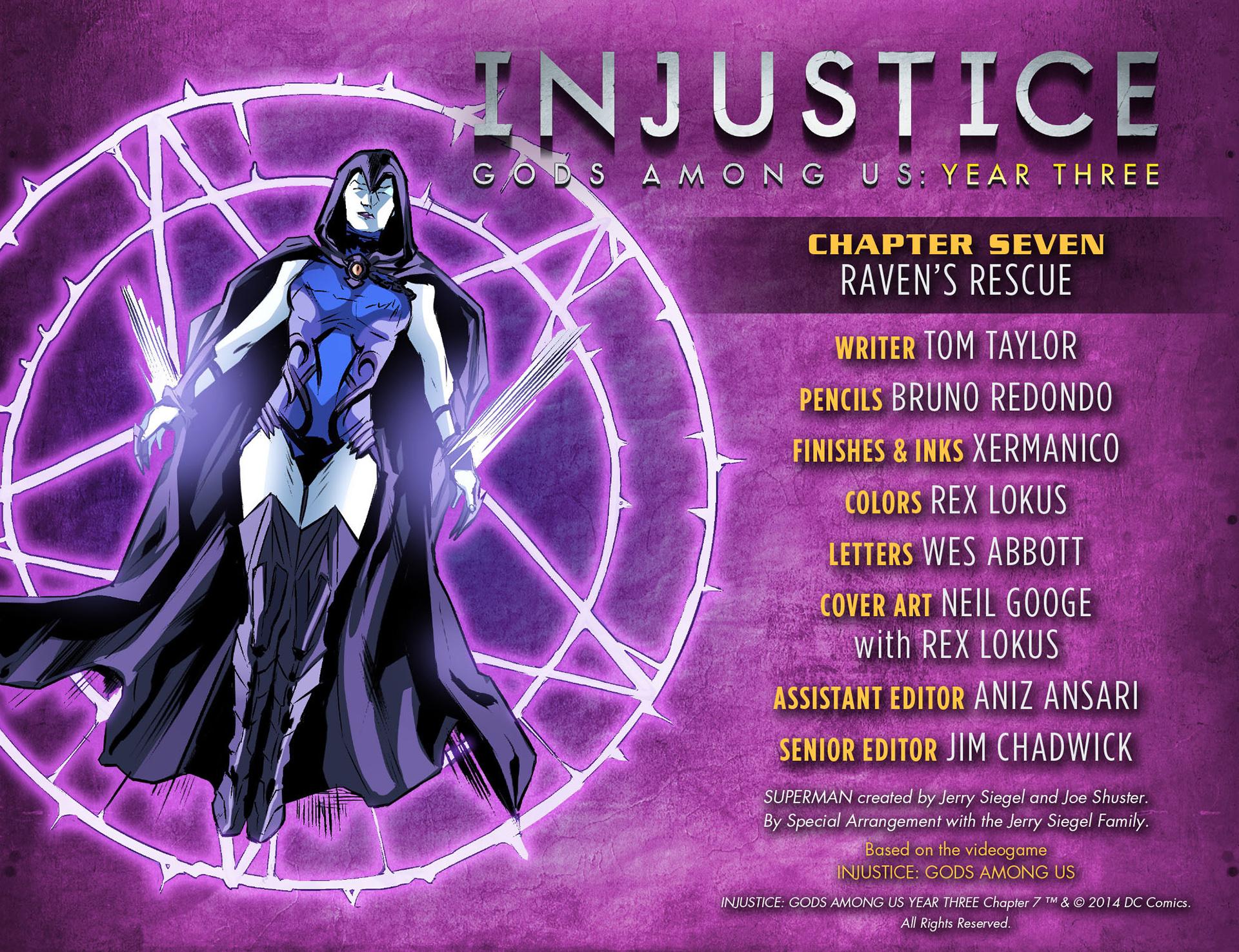 Injustice: Gods Among Us Year Three 7 Page 2