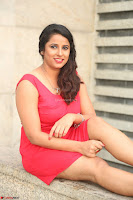 Shravya Reddy in Short Tight Red Dress Spicy Pics ~  Exclusive Pics 083.JPG