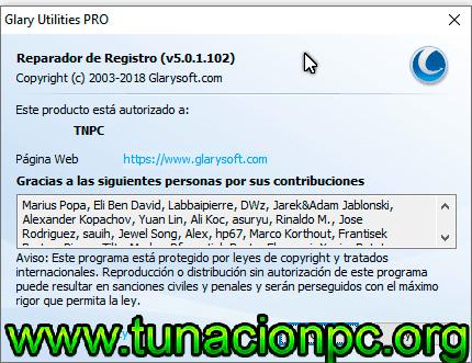 Descargar Glarysoft Registry Repair Gratis español con licencia