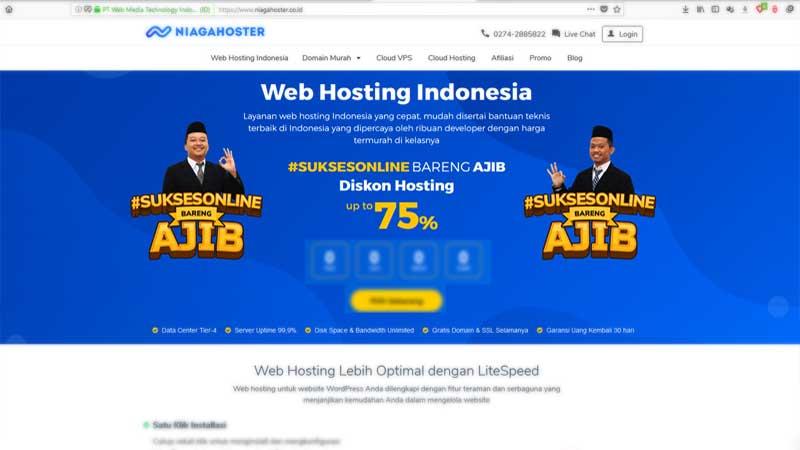 Niagara Hoster Layanan Web Hosting Terbaik Dan Termurah