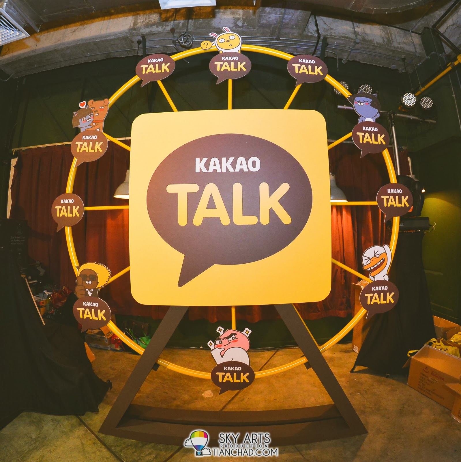 KakaoTalk Huge Ferris Wheel spotted at KakaoTalk Malaysia Epic Launch