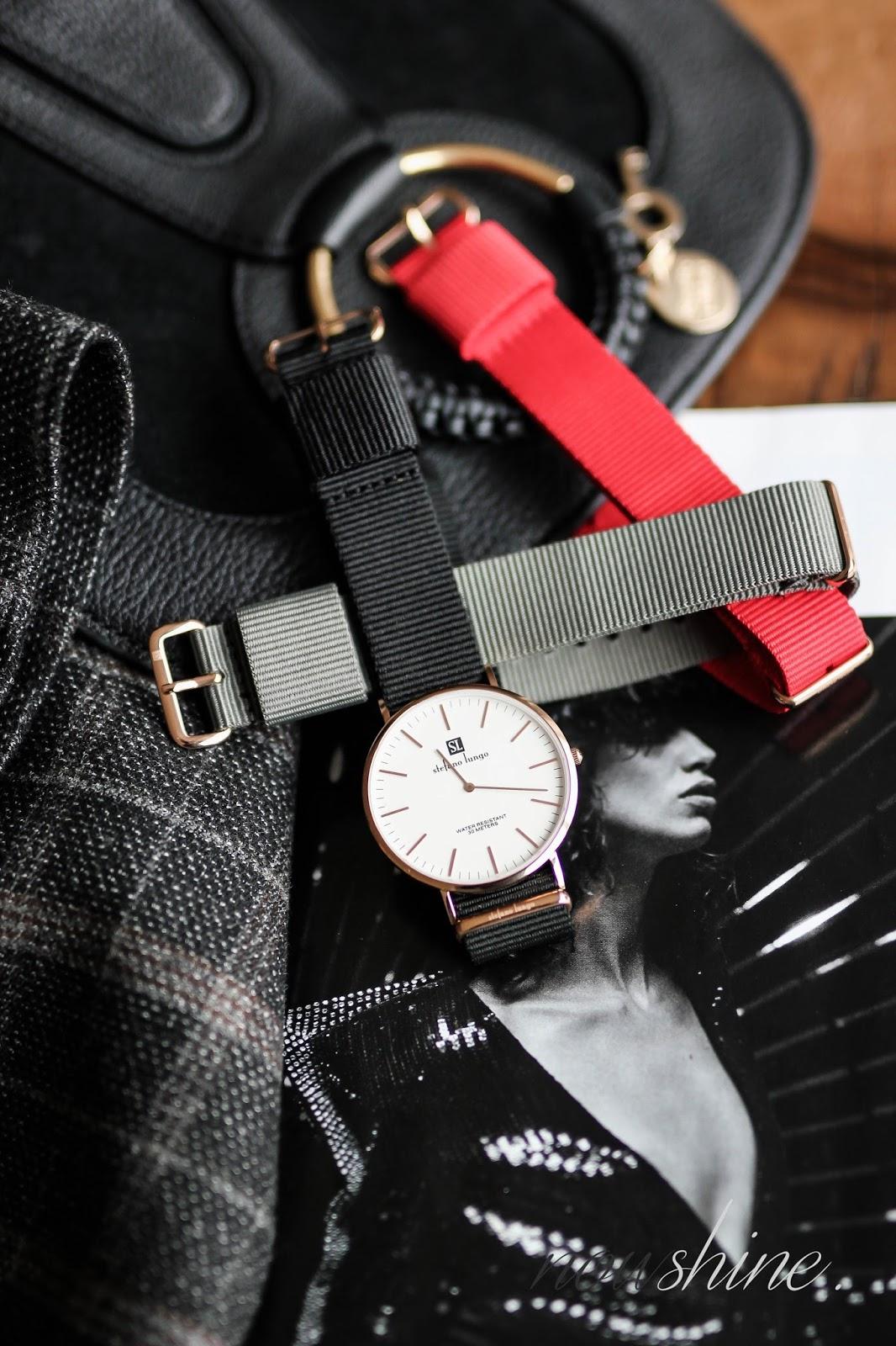 STEFANO LUNGO Uhr mit auswechselbarem Armband