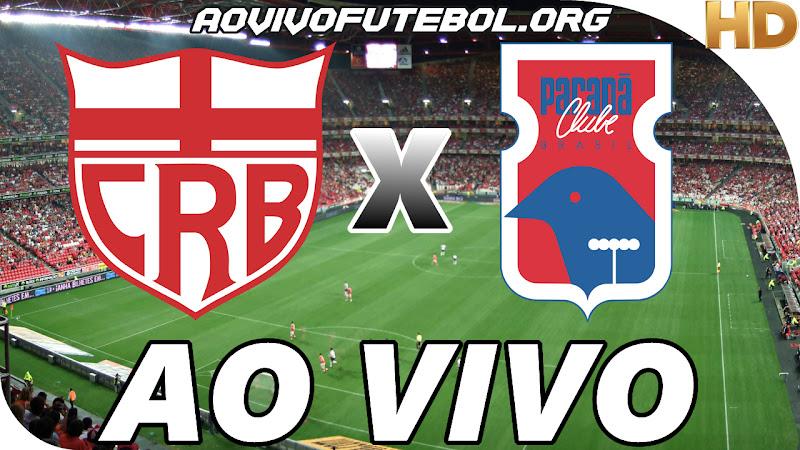Assistir CRB x Paraná Clube Ao Vivo