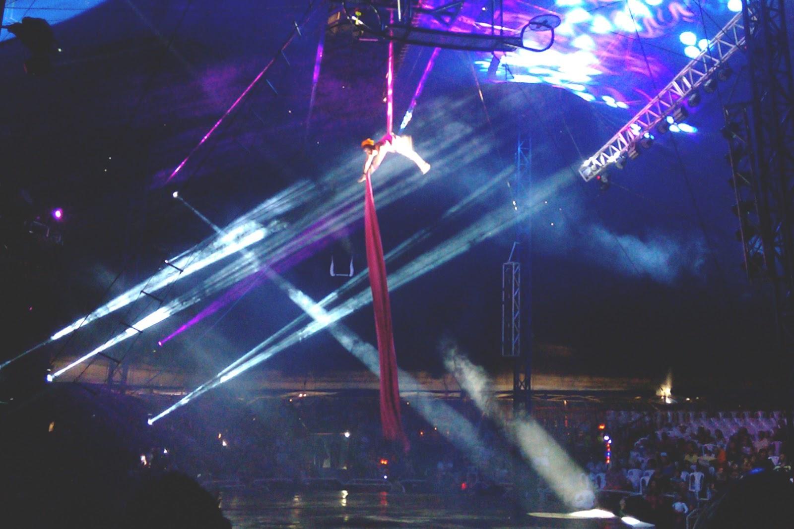espetáculo mirage circus