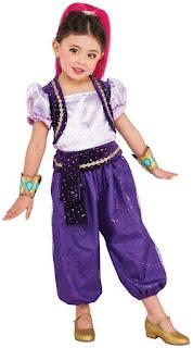 Shimmer Shine Costume