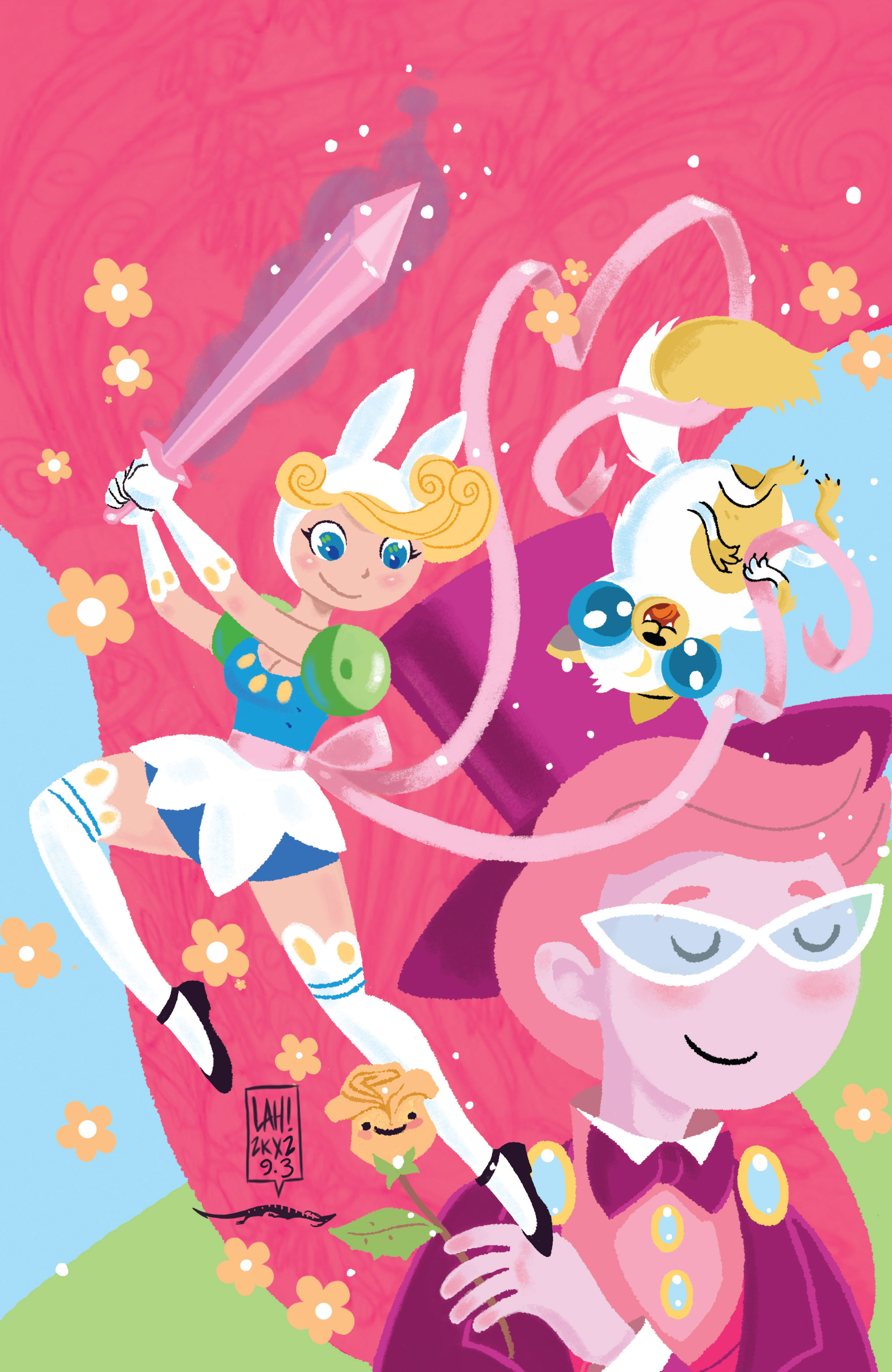 Read online Adventure Time with Fionna & Cake comic -  Issue #3 - 3
