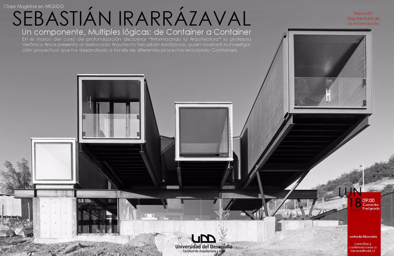 Sebastian irarrazaval arquitectos for Arquitectura modular