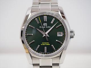 グランドセイコー SBGH261 限定色グリーンカラーモデルをお買い取り致しました