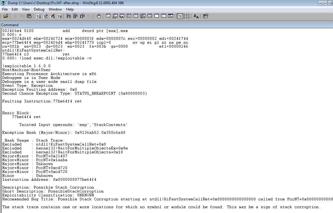 code16: Reading TrendMicro - OfficeScan