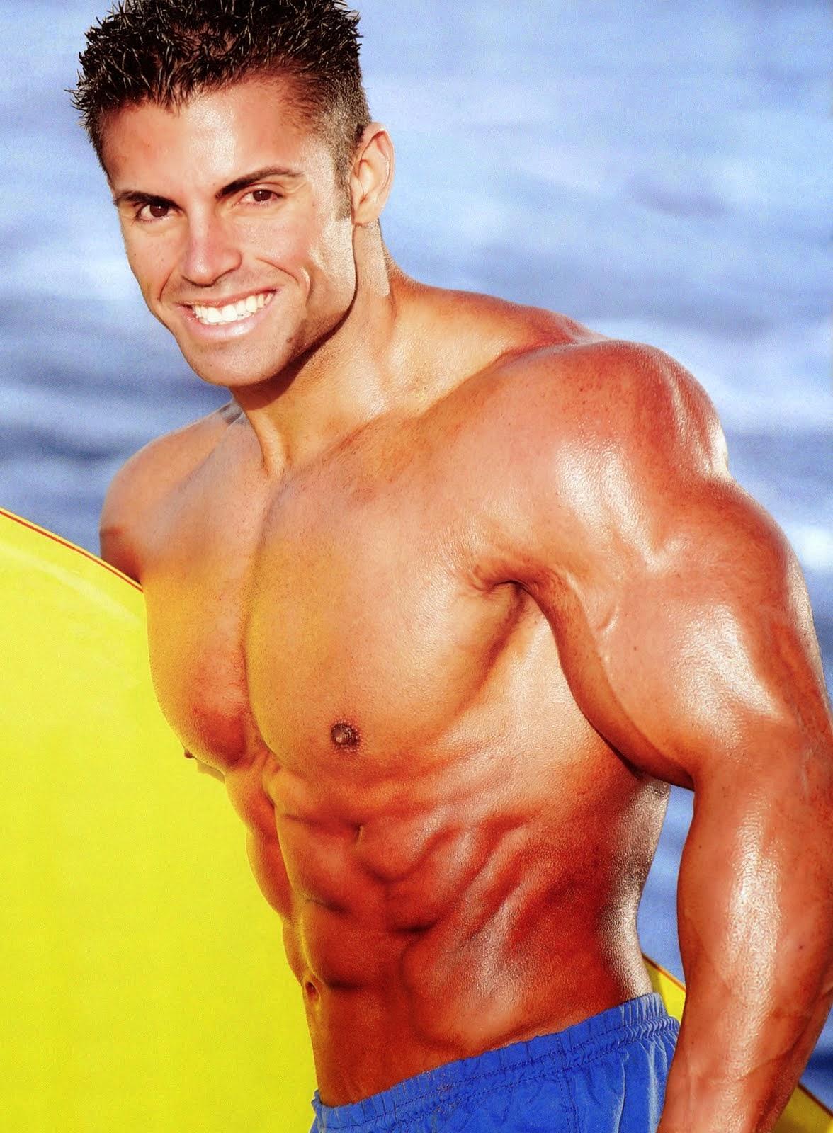 the beauty of male muscle: Brandon