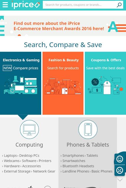 iPrice Blogger Competition: Laman web membeli-belah pilihan saya