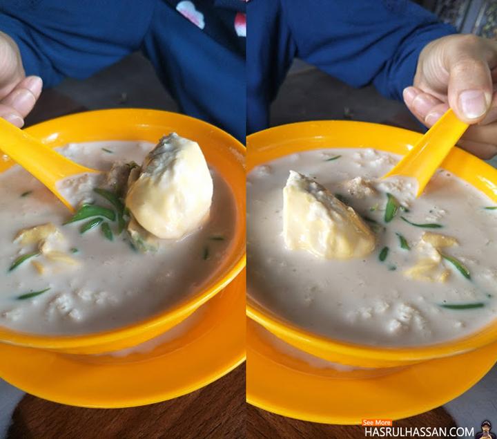 Cendol Durian dan Cendol Pulut Merah Restoran Mat Top