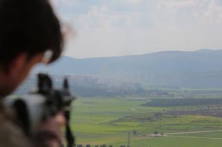 Türk kuvvetlerinden sıkıyor