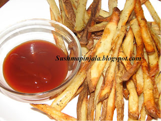 Baked French Fries