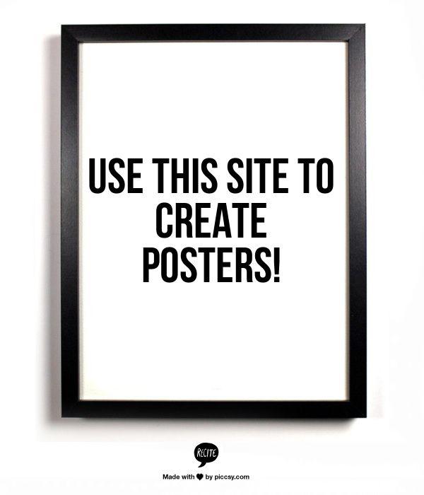 tworzenie plakatów, typografia, DIY, szablony z typografią