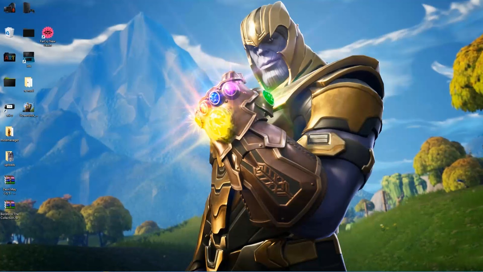 Wallpaper Engine Thanos In Fortnite Live Wallpaper Pc And Phone Free Download