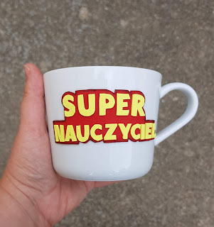 super woman, superman, prezent, gift, teachers, dla nauczyciela, kubek, mug, cup,