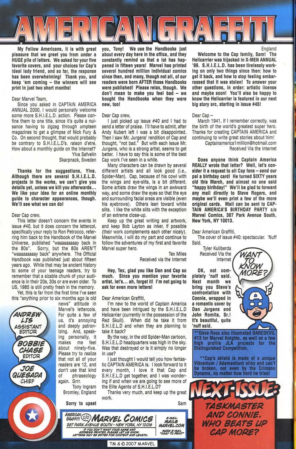 Captain America (1998) Issue #43 #50 - English 34