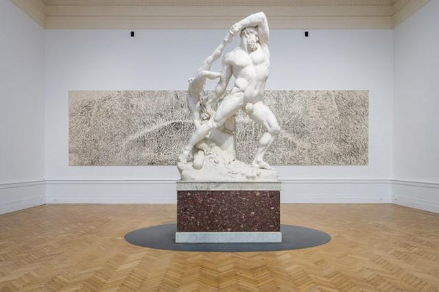 Obra de Antonio Canova exposta na Galeria Nacional de Arte Moderna em Roma