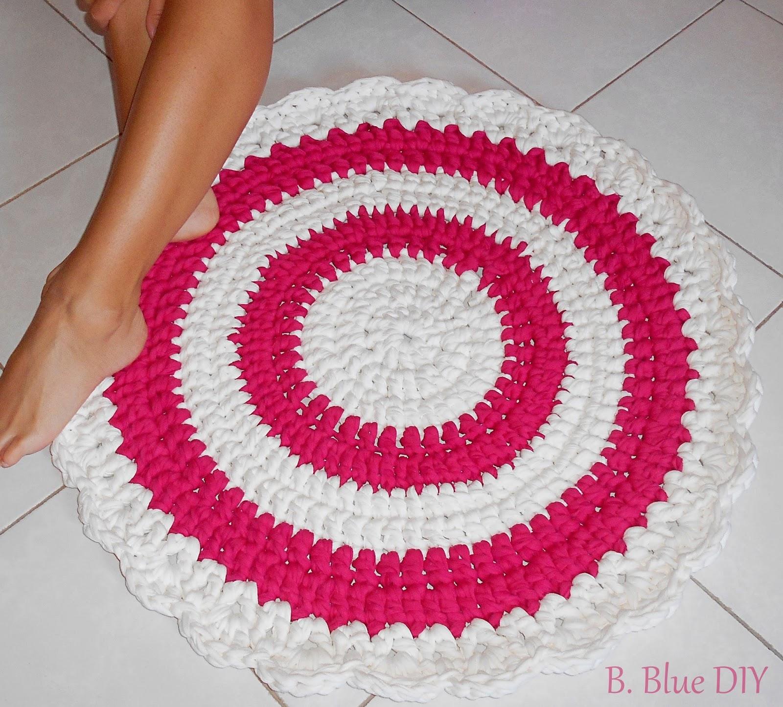 Alfombra de trapillo: pink and love
