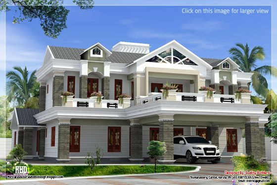 Box type luxury house
