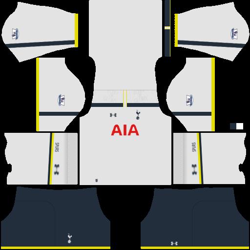 Tottenham logo fts 15 kits