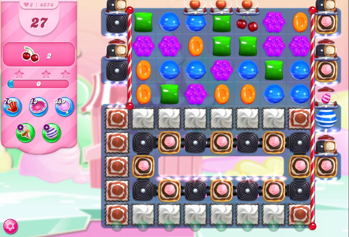 Candy Crush Saga level 4574