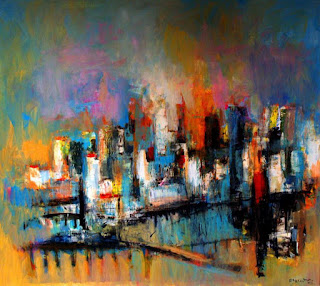 abstractos-modernos-sobre-lienzo