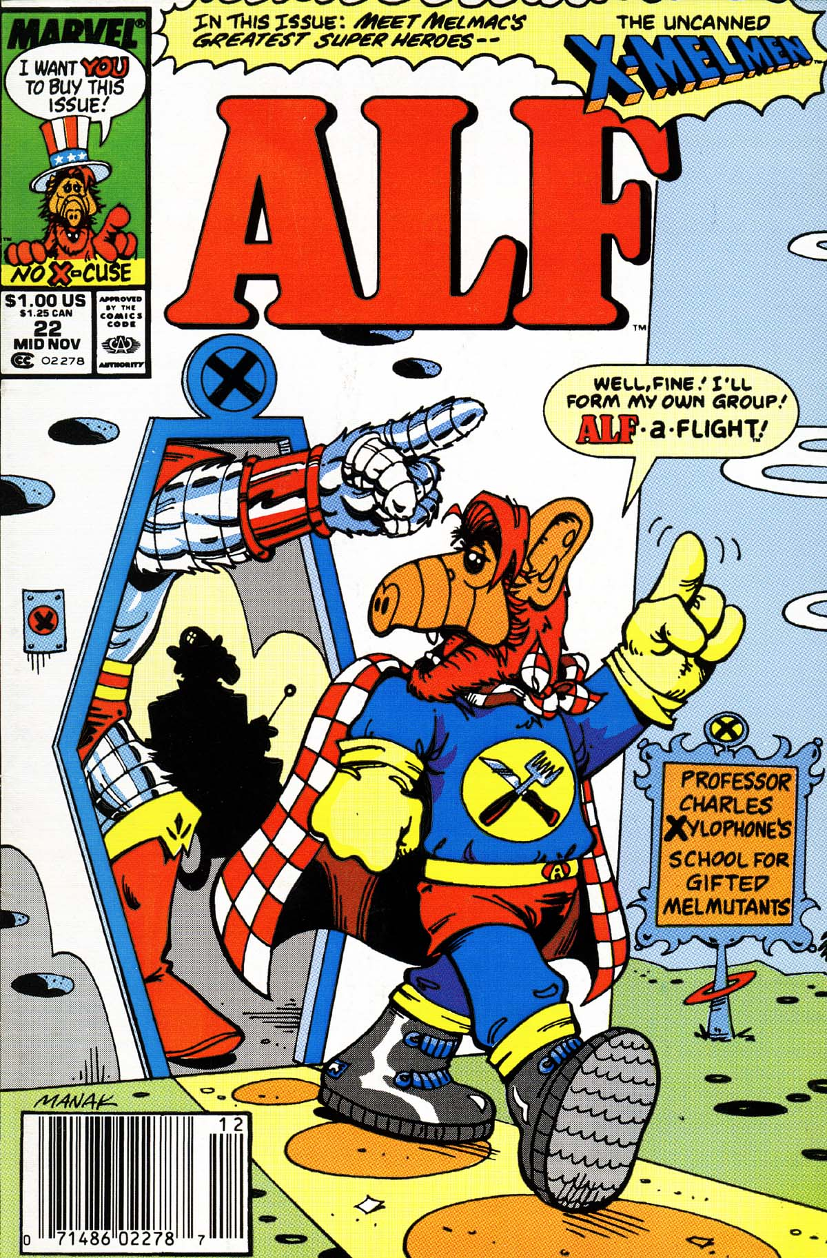Read online ALF comic -  Issue #22 - 1