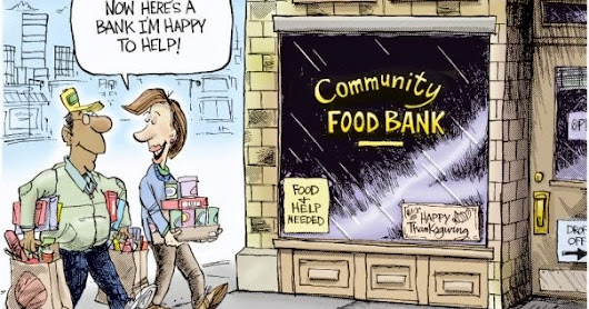 The Food Bank - a short story by allan hudson