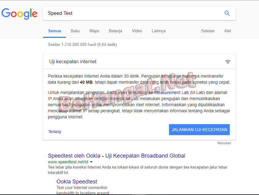 Cara Uji Kecepatan Internet kalian dengan Fitur Baru dari Google - BeHangat.Net
