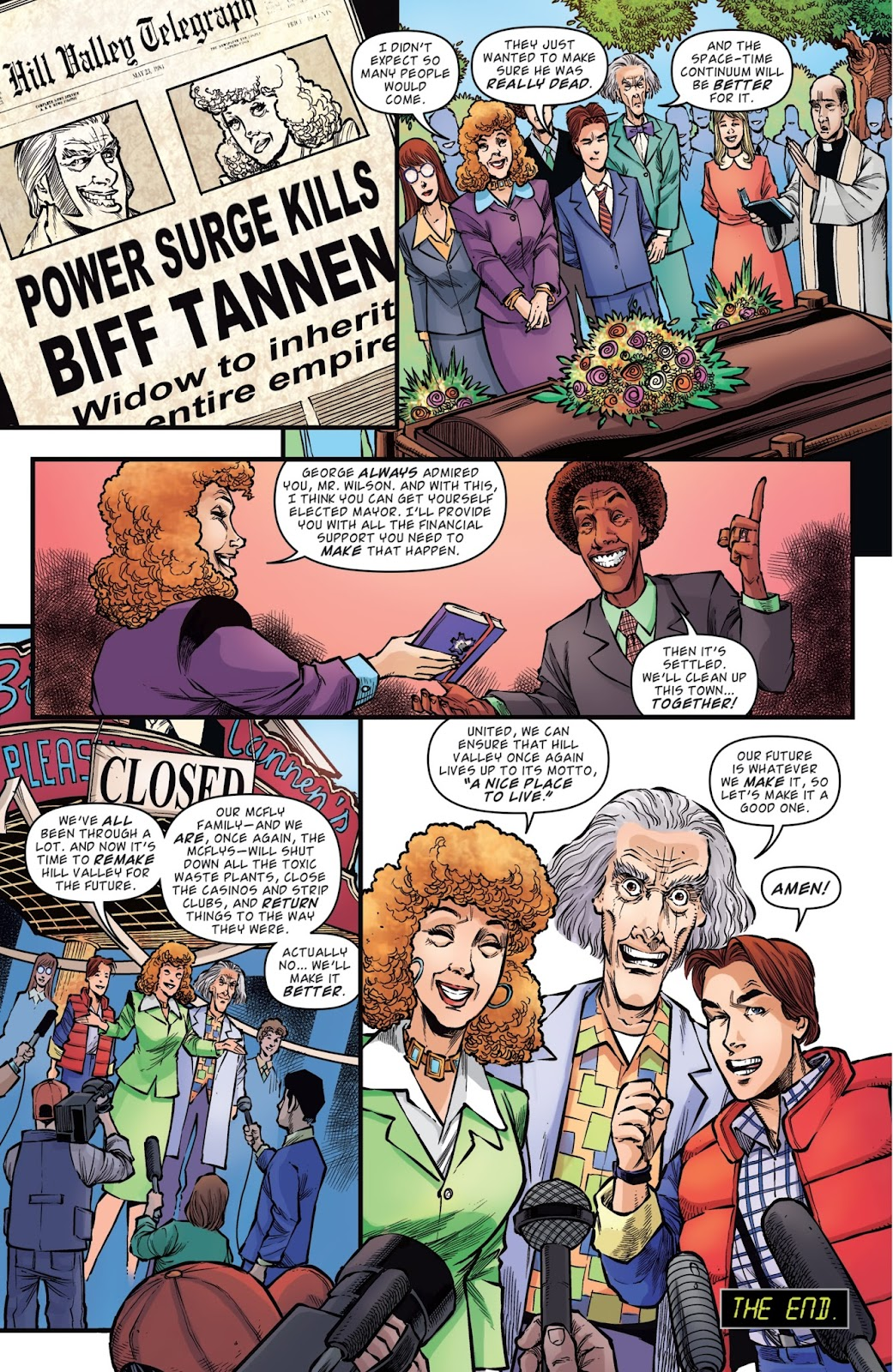 Read online Back to the Future: Biff to the Future comic -  Issue #6 - 22