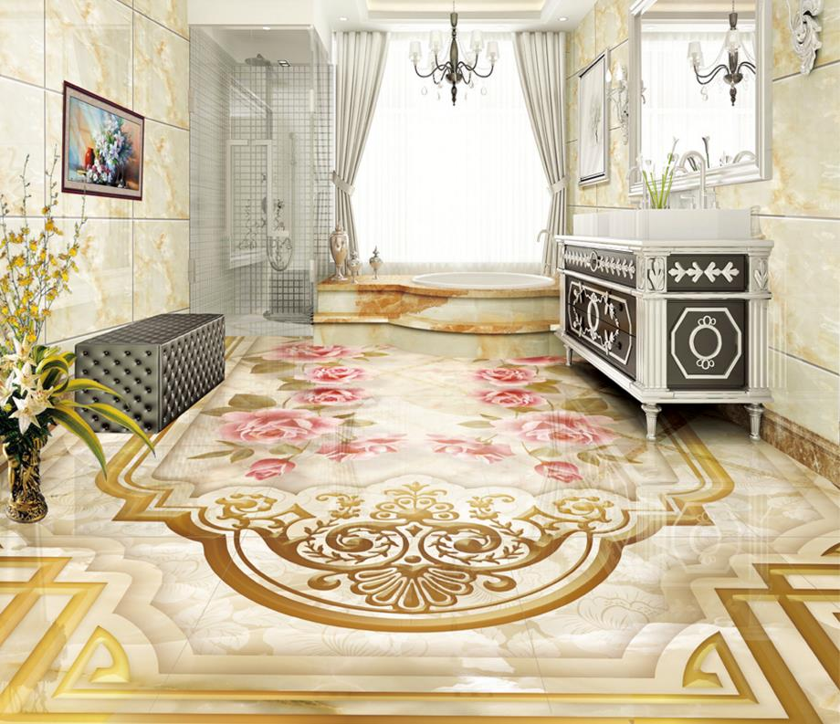 New 50 Marble Floor Tile Designs For Living Room And