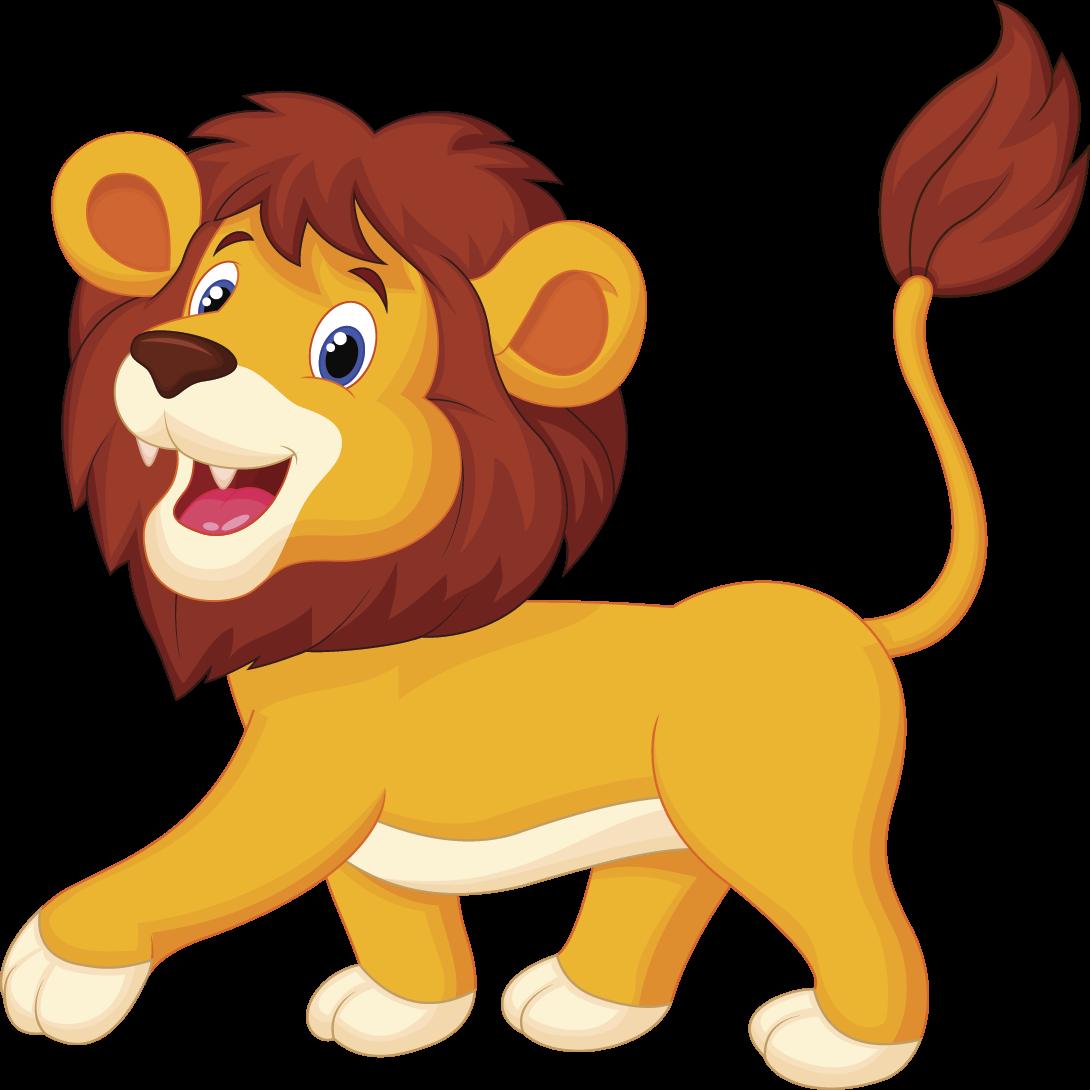 Gambar Hewan Singa Kartun  Ala Model Kini