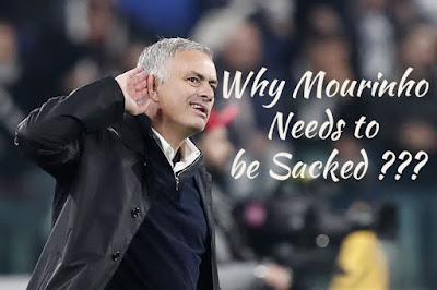 Why Mourinho Needs To Be Sacked