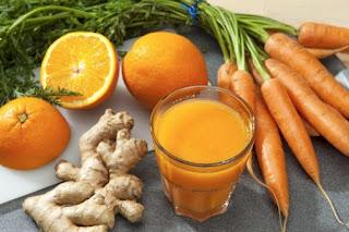 Manfaat Minum Jus Wortel dan Jahe Untuk Kesehatan Tubuh