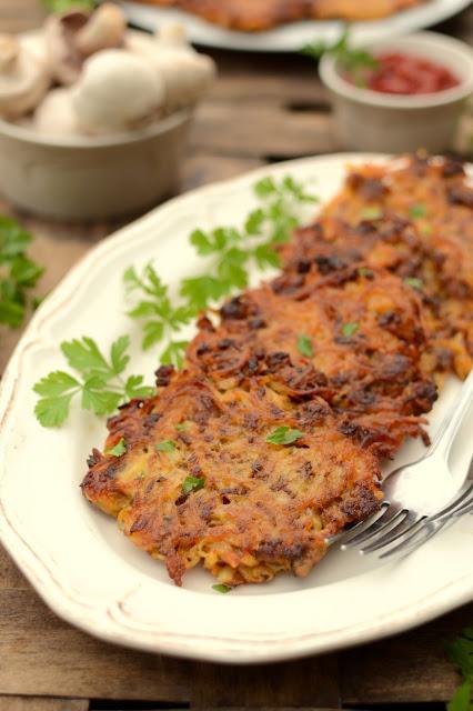 Placki ziemniaczane z mięsem