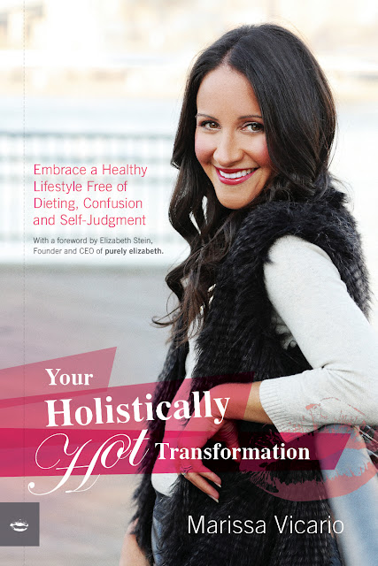 Tap here to win a FREE HEALTH BOOK from award-winning, holistic health coach, Marissa Vacarrio. Find a step-by-step health plan from this coach who appeared on Dr. Oz, and in The New York Times & Glamour Magazine!