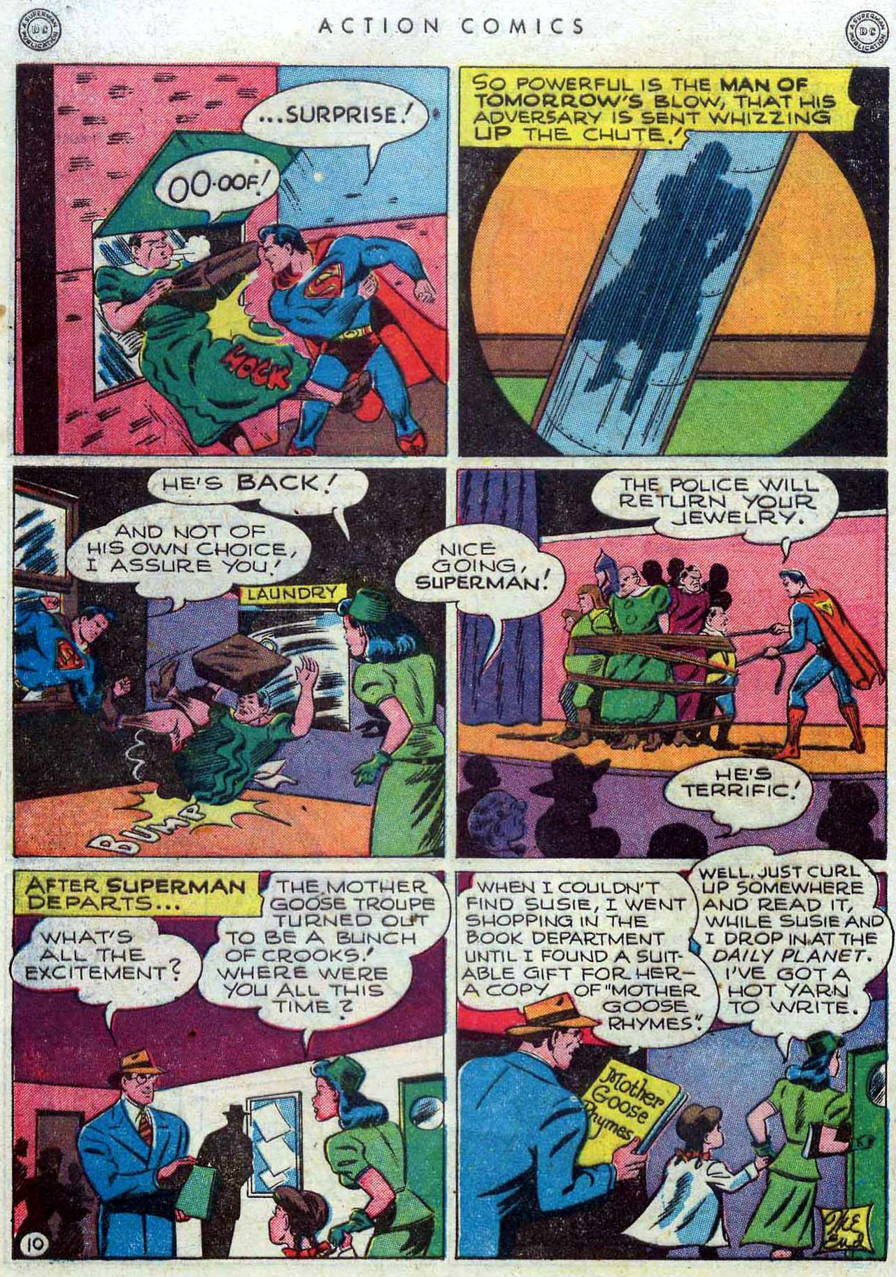 Read online Action Comics (1938) comic -  Issue #110 - 11