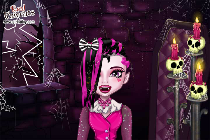 monster high real haircuts witam w wariatkowie 33 1633 | monster high real haircuts