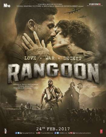 Rangoon 2017 Full Hindi Movie DTHRip Free Download