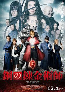 Fullmetal Alchemist - Poster & Segundo Trailer