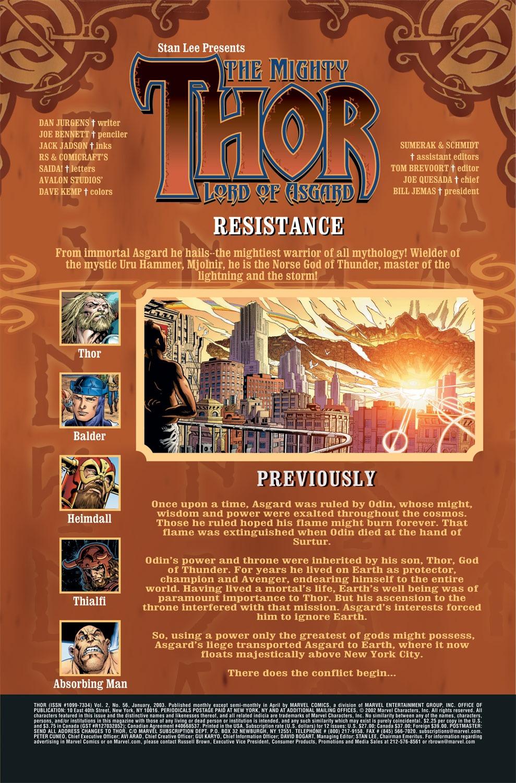 Thor (1998) Issue #56 #57 - English 2