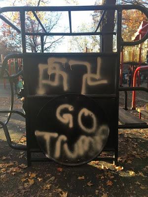 Beastie Boys - Nazi - Swastikas - Adam Yauch Park Brooklyn